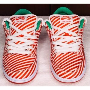 Nike Dunk Low Premium SB 'candy cane' Sneakers S6